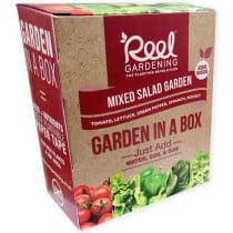 Reel Gardening Mixed Salad Garden in a Box