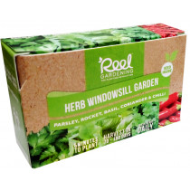 Reel Gardening Herb Windowsill