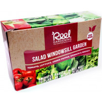 Reel Gardening Salad Windowsill