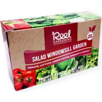 Reel Gardening Salad Windowsill
