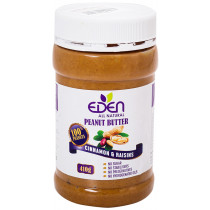 Eden Cinnamon and Raisin Peanut Butter 410g