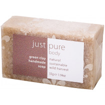 Just Pure Green Clay Soap Bar