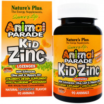 Animal Parade KidZinc Lozenges – Tangerine 90