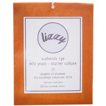 Lizzy Sourdough Starter Culture -Sachet