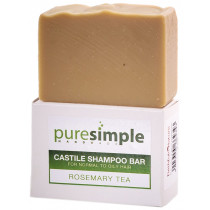 Pure Simple Shampoo Bar Rosemary Tea