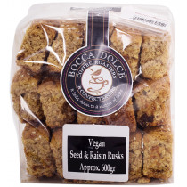 Quarry Lake Foods Vegan Seed & Raisin Rusks
