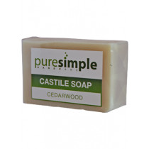 Pure Simple Cedarwood Castile Soap