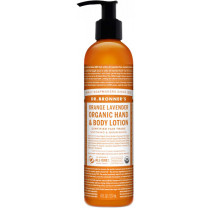 Dr. Bronner's Orange Lavender Hand & Body Lotion