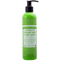 Dr. Bronner's Patchouli Lime Hand & Body Lotion