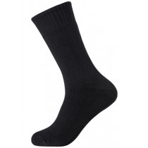 Boody Bamboo Ecowear Men's Work/Boot Socks - Black