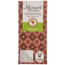 Monate Chocolate Chilli Bar, 54g