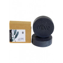 O'live Activated Charcoal & Cedarwood Soap