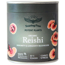 Soaring Free Potent Plants - Organic Reishi Powder