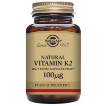 Solgar Natural Vitamin K2 (MK-7) 100µg