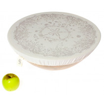 Halo Single Dish Cover Beach House - Fossil Grey