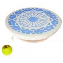 Halo Single Dish Cover Edible Flowers - Corn Flower Blue