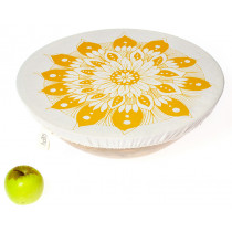 Halo Single Dish Cover Edible Flowers - Pearl Gold