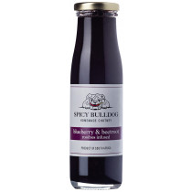 Spicy Bulldog Homemade Chutney - Blueberry & Beetroot