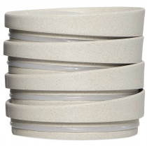 The Huskee Cup Universal Lids  - Natural