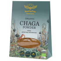 Soaring Free Superfoods Wildcrafted Chaga Mushrooms