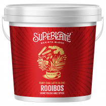 Superlatte Ruby Chai Latte Blend - Rooibos, Honeybush & Spice
