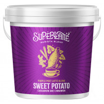 Superlatte Purple Poet Latte Blend - Purple sweet potato, Cinnamon & Cardamom