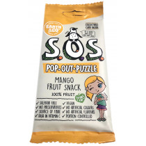 Earth & Co S.O.S. Pop-Out-Puzzle Fruit Snack - Mango