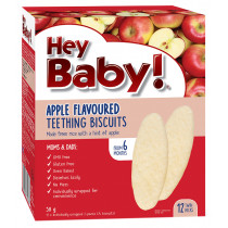 Hey Baby! Apple Teething Biscuits