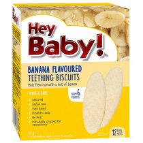 Hey Baby! Banana Teething Biscuits