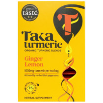 Taka Turmeric Organic Ginger and Lemon Tea