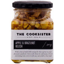 The Cooksister Apple & Brazil Nut Relish