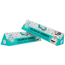 Inkmeo Colour By Number Reusable Colouring Roll