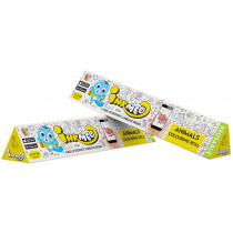 Inkmeo Learn About Animals Reusable Colouring Roll