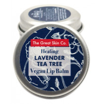 The Great Skin Co Vegan Lip Balm - Healing Lavender & Tea Tree