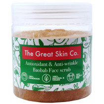 The Great Skin Co Antioxidant Baobab Face Scrub
