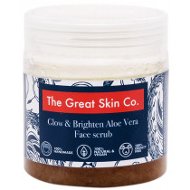 The Great Skin Co Glow & Brighten Aloe Vera Face Scrub