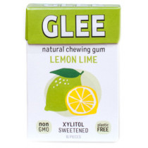 Glee Natural Chewing Gum Lemon Lime