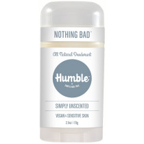 Humble Simply Unscented Natural Deodorant