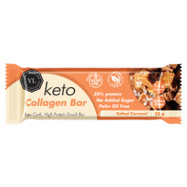 Youthful Living Keto Collagen Bar - Salted Caramel