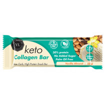 Youthful Living Keto Collagen Bar - Vanilla Almond
