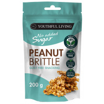 Youthful Living Peanut Brittle