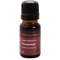 Faithful to Nature Organic Cinnamon Essential Oil