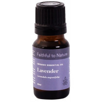 Faithful to Nature Organic Lavender Essential Oil