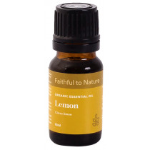 Faithful to Nature Organic Lemon Essential Oil