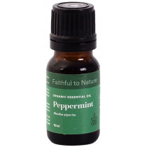 Faithful to Nature Organic Peppermint Essential Oil