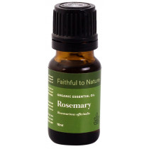 Faithful to Nature Organic Rosemary Essential Oil