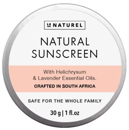 Le Naturel Natural Sunscreen