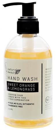 Naturals Beauty Sweet Orange & Lemongrass Hand Wash