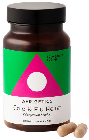 Afrigetics Cold & Flu Relief - Pelargonium Sidoides