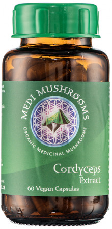 Medi Mushrooms Cordyceps Capsules